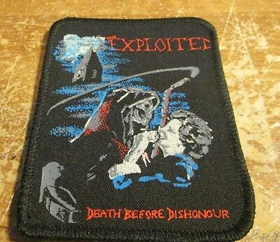 Exploited Collectable Rare Vintage Patch Woven 90's  Metal Slash Axl