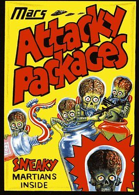 * Topps MARS ATTACKS OCCUPATION Wacky Packages ATTACKY Homage Single Promo Card
