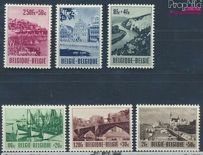 Belgium 967-972 unmounted mint / never hinged 1953 Tourism (8248467