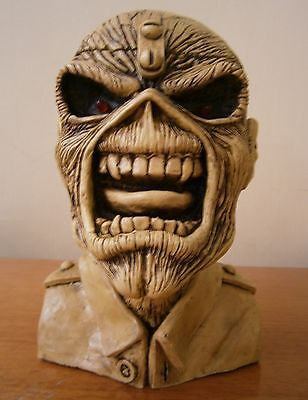 IRON MAIDEN The Trooper BUST Eddie STATUE SCULPTURE CD