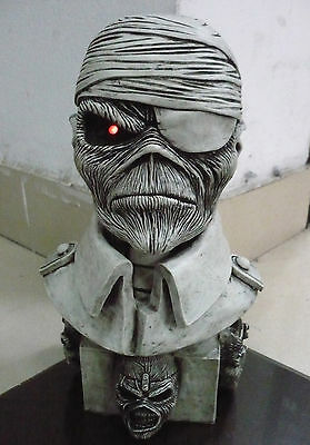 IRON MAIDEN Two Minutes to Midnight STATUE SCULPTURE BUST CD