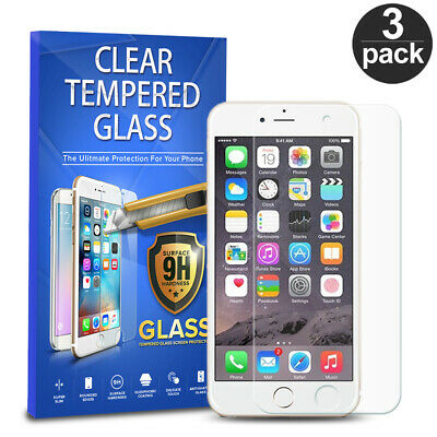 For Apple iPod Touch 6th 5th Generation Tempered Glass Screen Protector 3-PACK