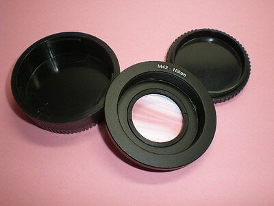 M42 to Nikon Lens Adapter ( focus to infinity )