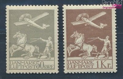 Denmark 180-181 unmounted mint / never hinged 1929 Airmail (8270893
