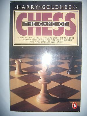 CHESS ECHECS: Golombek: The game of Chess, 1980, BE