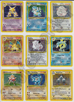 SUPER RARE COLLECTORS Pokemon Card Complete Sets From 1999 - 2017 (Pre EX Lv X)