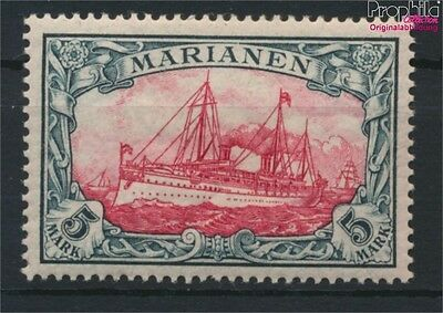 Marianas, German Colony 19 hinged 1901 Ship Imperial Yacht Hohenzollern (9030048