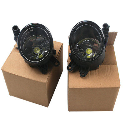 Pair For AUDI A4 B6 01-05 Saloon / Estate New Front LED Fog Light With LED Bulbs