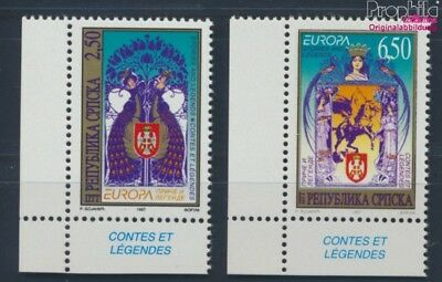Serbian Republic bos.-h 69-70 MNH 1997 Europe: Say, Legends (8688133