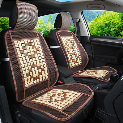 Summer Cool Breathable Nature Bamboo Auto Car Seat Cover Cushion Pad Mat Chair