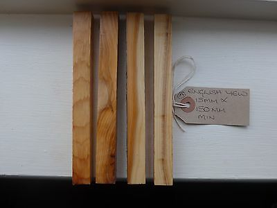 Yew English Wood Stabilised Pen Blanks  Turning X4     A