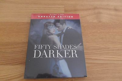 Fifty ( 50 ) Shades Darker Blu Ray + DVD New & Sealed Region Free UK Compatible