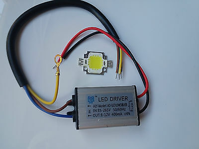 Led chip 10w + Driver