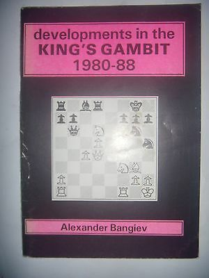 CHESS ECHECS: Developments in the King's Gambit: 1980-88, 1988, BE
