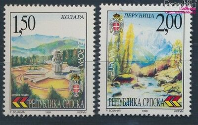 Serbian Republic bos.-h 125-126 MNH 1999 Nature-, National (8610114