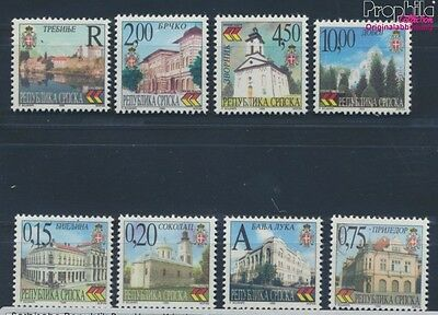 Serbian Republic bos.-h 111-118 MNH 1999 Cityscapes (8688130