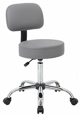 Boss Office Products Be Well Medical Spa Professional Adjustable Drafting Stool