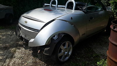 Ford Streetka 1.6 Convertible street silver, BREAKING FOR SPARES, one wheel nut