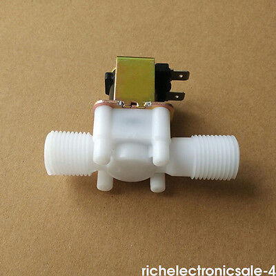 """1/2"""" Electric Solenoid Valve For Water Air N/C Normally Closed DC 12Volt RI3 8mm"""