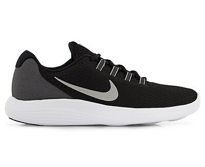 Nike Men's LunarConverge Shoe - Black/Matte Silver-Anthracite