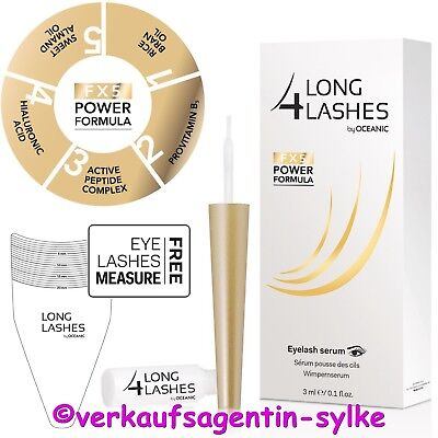 NEU! Long4Lashes FX5 Power Formula Wimpernserum 3ml by Oceanic, Wimpernwachstum