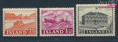 Iceland 275-277 unmounted mint / never hinged 1952 Views (8618312