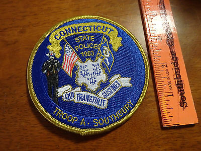 Connecticut State Troop A Southbury    Obsolete