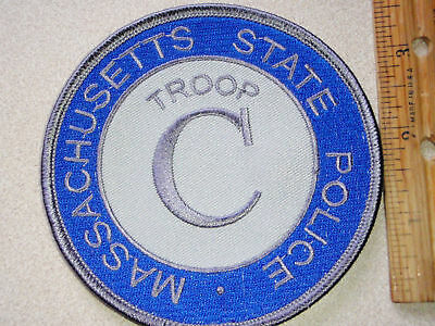 Massachusetts State Police Troop   C  Patch
