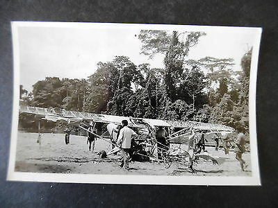 RP Wrecked Airplane on Beach Postcard Used Ecuador to US 1956