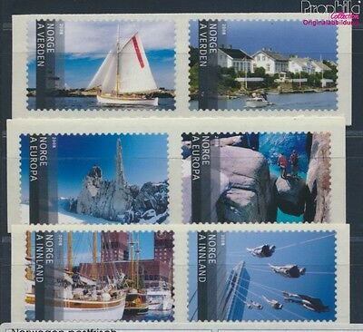 Norway 1649-1654 unmounted mint / never hinged 2008 Tourism (8688185