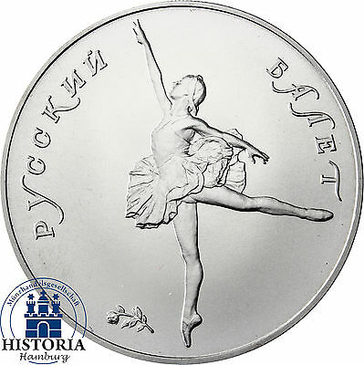 1 Oz Palladium Münze Russland 25 Rubel 1991 Russisches Ballett Ballerina