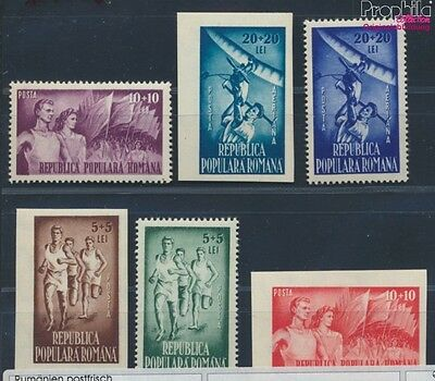 Romania 1171-1176 unmounted mint / never hinged 1948 Volkssport (8688285