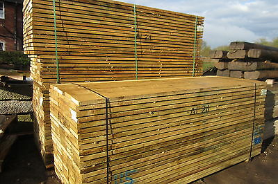 New scaffold Boards Tanalized green 2.4m / 8ft