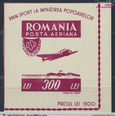 Romania Block33 unmounted mint / never hinged 1946 Airmail (8688288