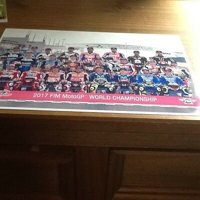 The MotoGP Grid 2017 - A4 PHOTOPRINT
