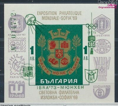 Bulgaria Block40 MNH 1973 BriefmarkenausstellungIBRA´73 (8688203
