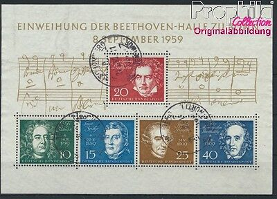 FR of Germany block2 used 1959 Beethoven (8867358