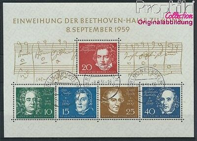 FR of Germany block2 used 1959 Beethoven (8867357