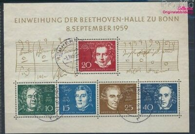 FR of Germany block2 used 1959 Beethoven (8831143