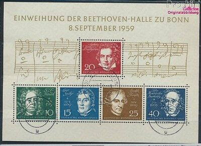 FR of Germany block2 used 1959 Beethoven (8609976