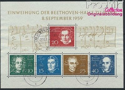 FR of Germany block2 used 1959 Beethoven (8867359