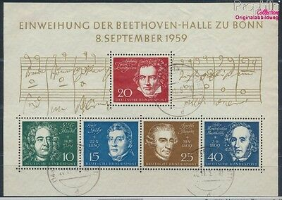 FR of Germany block2 used 1959 Beethoven (8609971