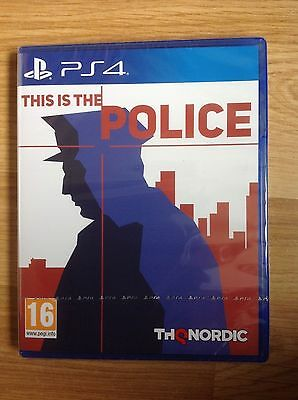 This Is the Police For PS4, New & Sealed