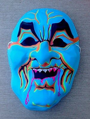 VINTAGE Witch Villain Monster Creature HALLOWEEN MASK Mint Shape Plastic Style