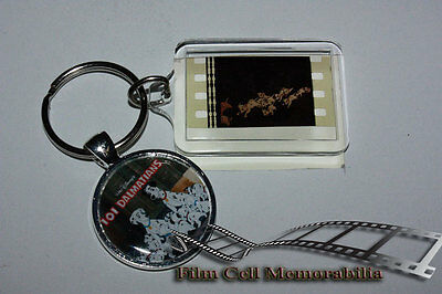 101 Dalmatians - 35mm Film Cell Movie KeyRing and Pendant Keyfob Gift