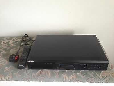 Sony MDS-JE330 MiniDisc Player Recorder with Remote