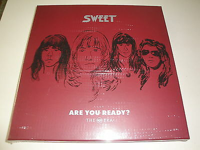 Sweet: Are You Ready (The RCA Era) Vinyl 7 LP Box + Poster