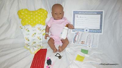 RealCare 2/II Baby Think It Over Doll White Caucasian Girl Female + Accessories