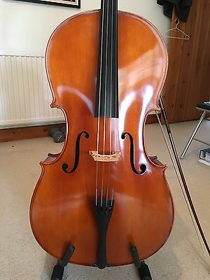 Lovely Full Size Cello with Jargar strings - PRICE REDUCED