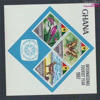 Ghana block29 unmounted mint / never hinged 1967 Tourism (8776889